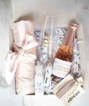 Bridesmaid Champagne Gift Set