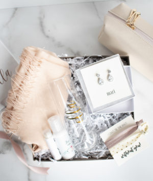 Bridesmaid Getting Ready Gift Set