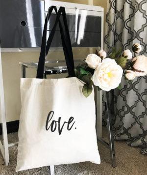 Custom Bridesmaid Tote Bag