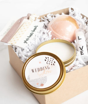 Small Spa Bridesmaid Gift Set