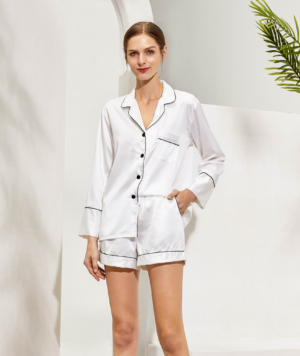 Bride Satin Pajama Set