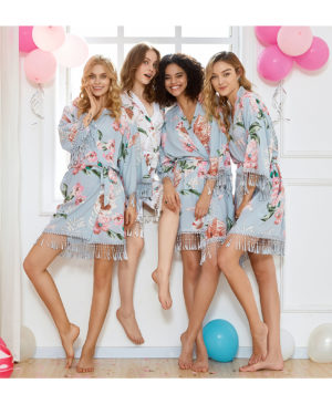 Boho Bridesmaid Robe