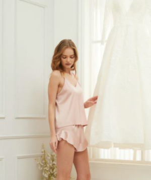 Bridesmaid Satin Cami Pajama Set